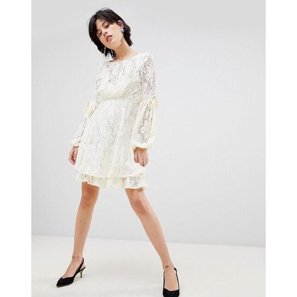 0544cde684c1 Free People Dresses | Nwt Ruby Crochet Lace Mini Dress | Poshmark